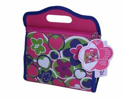 NEW Blossom Bags Pink Floral Lunch Box Bag for Kids, Girls,