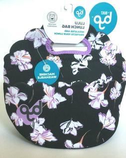 New Built Byo Lulu Lunch Bag Washable Neoprene Zip Close Poc