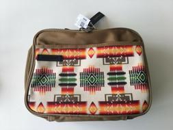 new designer lunch bag box tan aztec