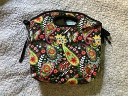 NEW Fit and Fresh Paisley Insulated Lunch Bag with Cold Pack