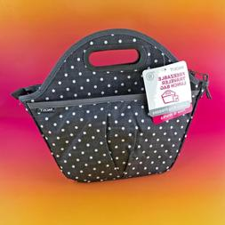 New PackIt Freezable Traveler Lunch Bag PKT-TV-POL - Polka D