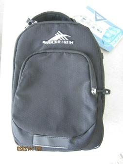 NEW High Sierra Lunch Bag Insulated Expandable Black for Col