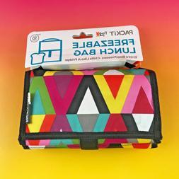 NEW PACKiT Freezable Lunch Bag - Viva Colors PKT-PC-VIV #viv