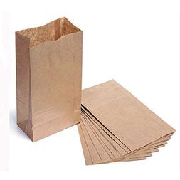 """Kraft Small Brown Paper Bags 250 per pack 3 x 2 x 6"""" Party F"""