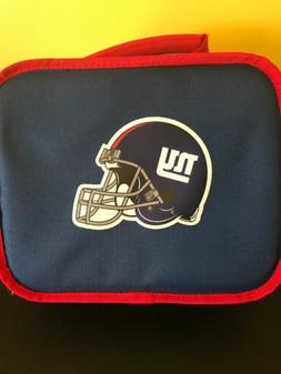 New York Giants Insulated soft Lunch Bag Cooler New BIg Logo