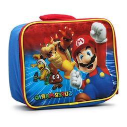 Nickelodeon Super Mario Insulated Square Lunch Bag
