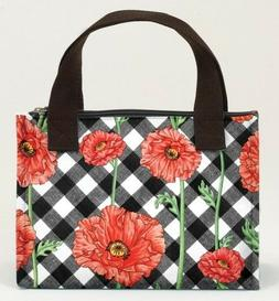 Joann Marrie Designs NLB1PC Lunch Bag - Poppy Chic Pack of 2