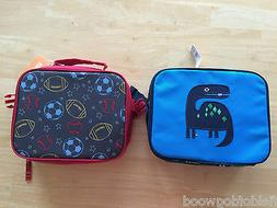 NWT Gymboree Boys Lunch Box Tote Bag School Dinosaur or spor