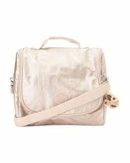 NWT KIPLING KICHIROU Insulated Lunch Bag Tote CrossBody Gold