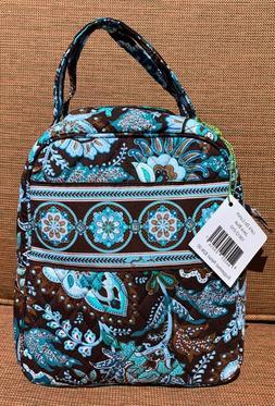 NWT Vera Bradley Let's Do Lunch Bag Cooler in Java Blue Patt