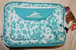 NWT High Sierra Single Compartment Aqua Insulated Lunch Bag
