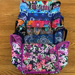 NWT Vera Bradley STAY COOLER Insulated Lunch bag sack date b