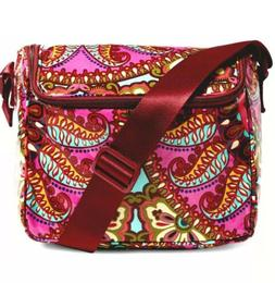 NWT Vera Bradley Stay Cooler Insulated Lunch BAG PARISIAN PA