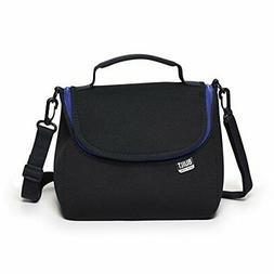 BUILT NY Bistro Neoprene Crossbody Lunch Bag, Black