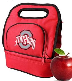 Broad Bay Ohio State University Lunch Bags Two Section Insul