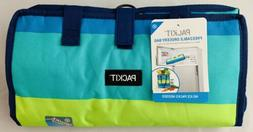PACKiT Pack It Freezable Grocery Tote Bag in Fresh Stripe