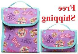 PAW PATROL GIRLS'  INSULATED FOLDABLE LUNCH BAG