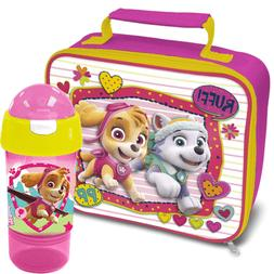 Paw Patrol Girls Skye & Everest Lunchbag with Sip and Snack