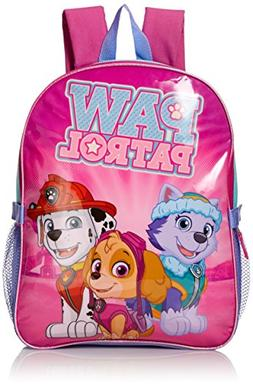 Paw Patrol Girls' Skye and Friends 15 Inch Backpack with Lun