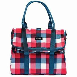 PackIt Picnic Tote Buffalo Check
