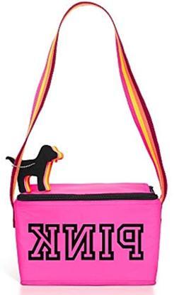 PINK Victorias Secret VS Pink Lunch Cooler Bag & Keychain