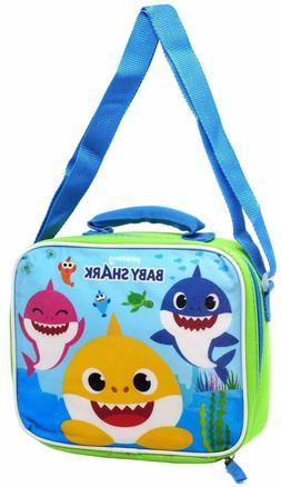 Pinkfong Baby Shark Lunch Bag w/ Strap Kids School- BBLUNCH