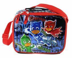 PJ Masks School Insulated Lunch Box Lunch Bag Shoulder Strap