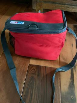 PK2 by Packit Freezable Lunch Bag Zipper Closure Red NWOT 8.
