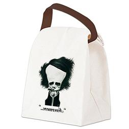 poe canvas lunch bag canvas lunch bag
