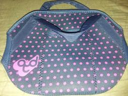 Polka Dot Insulated Lunch Bag