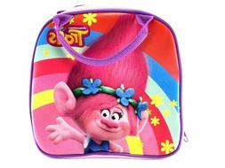 Trolls Poppy Lunch Box Carry Bag with Shoulder Strap and Wat