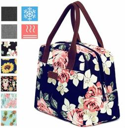 Portable Insulated Lunch Bag 7.5L Thermal Cooler Tote Lunch