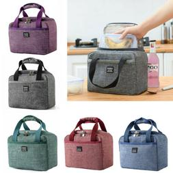 Portable Insulated Lunch Bag For Women Men Kids Tote Cooler