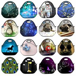 Portable Insulated Lunch Box Tote Picnic Storage Bag Cooler