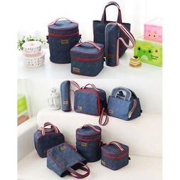 Portable Lunch Box Women Men Insulated Lunch Bag Small&Large