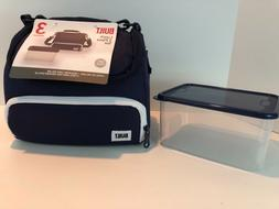 Built NY Prime Lunch Bag with Food Container Navy NWT