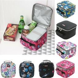 Printing Lunch Bags Pouch Picnic Storage Box Thermal Cooler