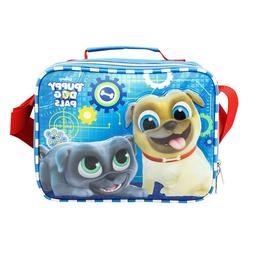 Disney Puppy Dog Pals Insulated  Bingo & Rolly Blue Lunch Ba