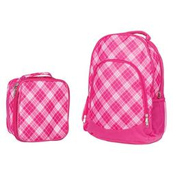 Reinforced Water Resistant School Backpack and Insulated Lun