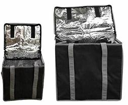 Reusable Insulated Lunch Bag Collapsible and Made from Heavy