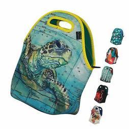 ART OF LUNCH Reusable Insulated Neoprene Lunch Bag for Women