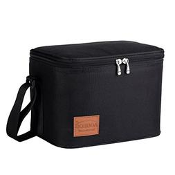 Aosbos Insulated Lunch Box Bag Cooler Reusable Tote Bag Wome