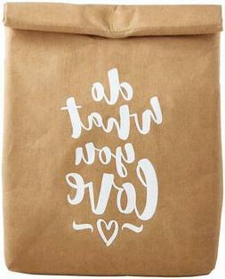 SB Design Studio Washable Paper Lunch Bag, 5.5 x 12 x 6.75-I