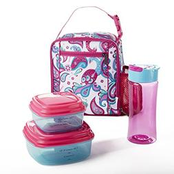 Fit & Fresh Scout Lunch Kit for Kids with BPA-Free Container
