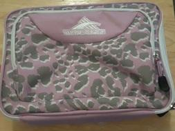 High Sierra Single Compartment Lunch Bag, Shadow Leopard/Ice
