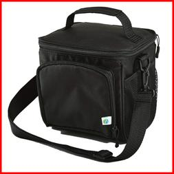 Small Cooler Bag Lunch Insulated Tote Soft Sided Thermal For
