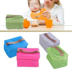 Small Thermal Cooler Insulated Bags Picnic Lunch Bag Carry T