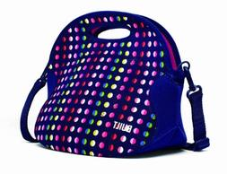 BUILT NY Spicy Relish Neoprene Lunch Bag with Adjustable Cro