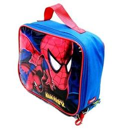 """SPIDER-MAN 9.5""""  INSULATED LUNCHBOX LUNCH BAG WITH WATER BOT"""