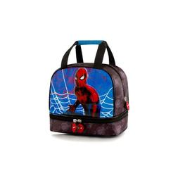 Marvel Spiderman Deluxe Kids Lunch Bag for Boys - 8 Inch